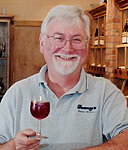 Brian Moreau is the resident Oenologist for Downey's Estate Winery, north of Brampton, Ontario