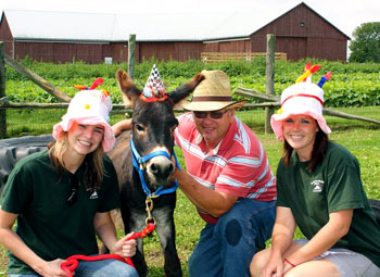 Join us for Clip-Clops Birthday party at Downey's Farm in Caledon, Ontario, west of Toronto.