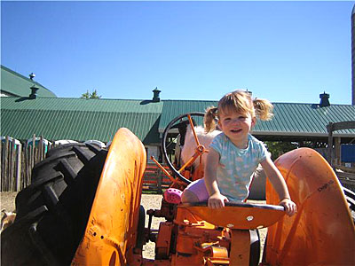 Your kids have a great birthday party on the farm at Downey's Farm in Caledon, Ontario west of Toronto.
