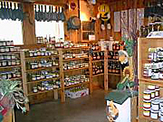 Country jams, jellies, dressings, cheeses and more at Downey's Farm, Brampton, Ontario.