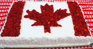 Come celebrate Canada Day with fresh strawberries at Downey's Farm, Caledon, Ontario west of Toronto.